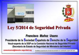 Presentacion FRANCISCO MUÑOZ USANO