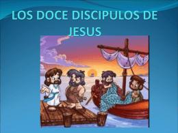 LOS DOCE DISCIPULOS DE JESUS