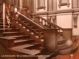 escalera laurenziana 6 - HISTORIA DEL ARTE Y LA ARQUITECTURA