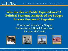 Federalismo fiscal: Cómo evitar el juego de las lágrimas