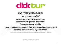 Software de gestión para Agencias de Viajes 100% online.