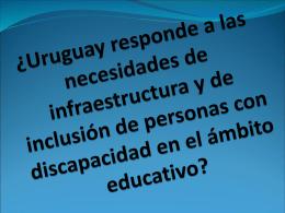 ¿Uruguay responde a las necesidades de infraestructura y de