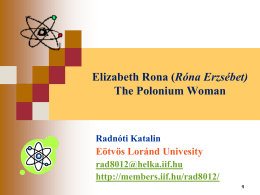 Elizabeth Rona