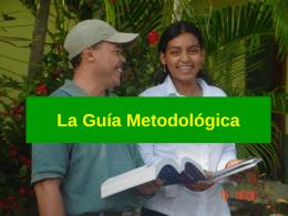 Las Guía Metodológicas