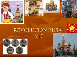 REVOLUCION RUSA - Enseñanza Media