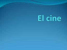 El cine - humanidades120