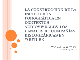 Presentación Santiago Videla