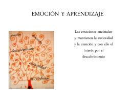 EMOCIÓN Y APRENDIZAJE