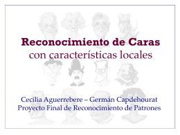 Reconocimiento de Caras con información local
