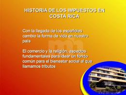 3-Historia y tributos de CR - UTN-CONTA-IV