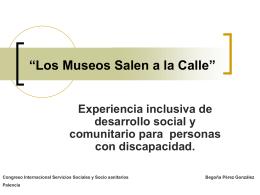 """""""Los Museos Salen a la Calle"""""""