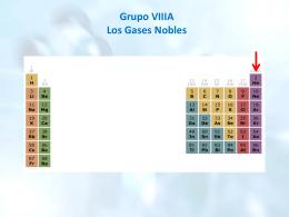 Grupo VIIIA Los Gases Nobles Características del grupo