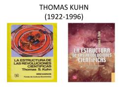 thomas kuhn - María Spadaro – Metodología de las ciencias sociales