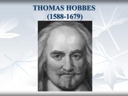 La filosofía política de Thomas Hobbes
