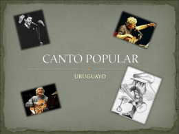 CANTO POPULAR - WordPress.com