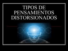 TIPOA DE PENSAMIENTOS DISTORSIONADOS