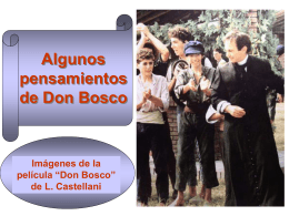Power point Algunos pensamientos de Don Bosco