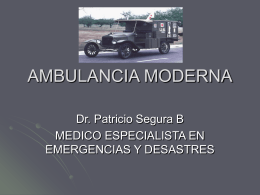 AMBULANCIA MODERNA