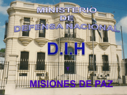 14 / 11 / 2011 - Ministerio de Defensa Nacional