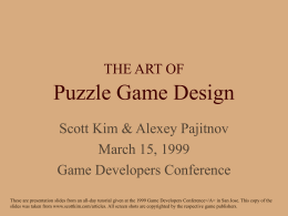Scott Kim — Puzzles, Ambigrams, Brain Games, Math Education
