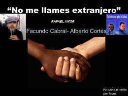 """No me llames extranjero"""