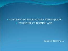 Andrés Valentín Herrera- Ministerio de Trabajo