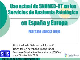 Proyecto Tele-Patología - Comunidad Virtual de Anatomía Patológica
