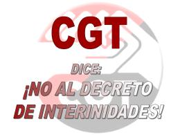 Una lista preferente - CGT