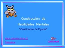 Construcción de Habilidades Mentales