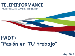 Pasión? - Intranet en Teleperformance México