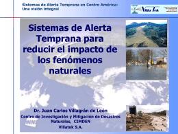 Sistemas de Alerta Temprana en Guatemala: Una visión integral