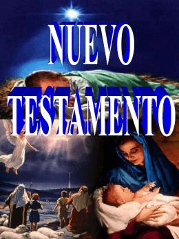 Resumen información de libros de la Biblia: Nuevo Testamento