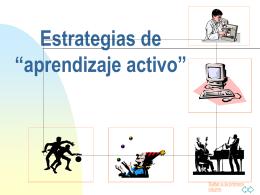 Estrategias de Aprendizaje Activo. - UCAB