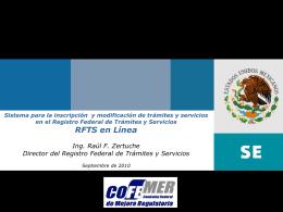 RFTS en Línea Simbología