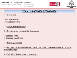 Tema 1. La actividad económica, Teresa martí
