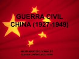 GUERRA CIVIL CHINA (1927
