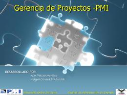 Gerencia de Proyectos -PMI