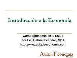 Mercados de bienes y servicios. Sectores