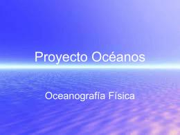 Proyecto Océanos