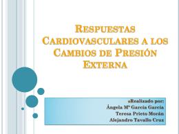 respuestas cardiovasculares a los cambios de presión