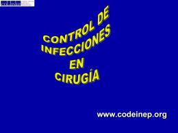 Control de Infecciones en Cirugía