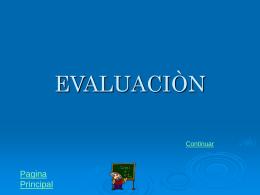 Evaluación.