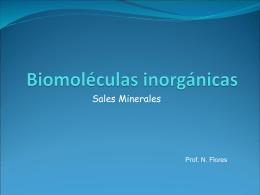 Funciones de las sales minerales: ósmosis
