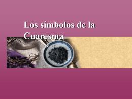 Los símbolos de la Cuaresma