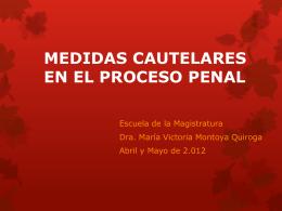 Medidas Cautelares en el Proceso Penal