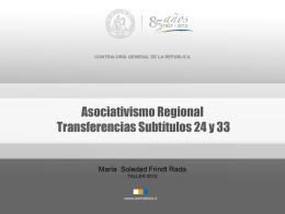 Transferencias Subtítulos 24 y 33.