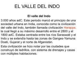 EL VALLE DEL INDO