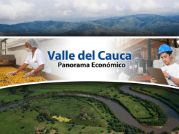 Valle del Cauca, Panorama Económico