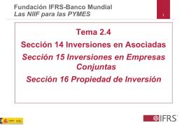 Secciones 14 y 15