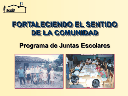 Presentación Juntas Escolares - Ministerio de Educación